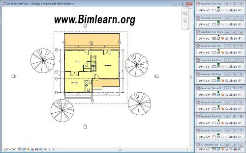 افزونه Palladio X BIM WindowsLayout