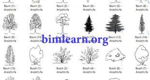 مجموعه آبجکت دو بعدی گیاه و درخت رویت