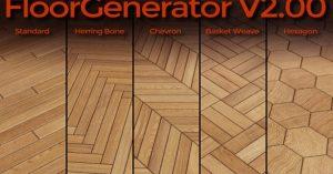 پلاگین Floor Generator برای نرم افزار تری دی مکس